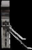 Kachels en Rookkanalen  Enkelwandige kachelpijp  Muurbeugel Deluxe 150 met extra armen